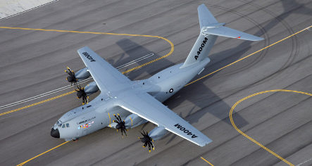 Airbus A400M military transport reportedly too heavy and weak