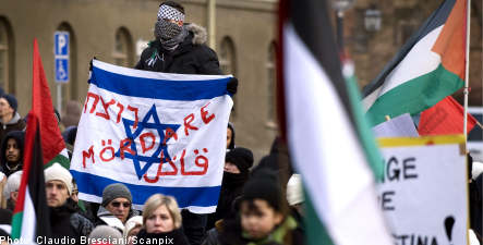 Swedes 'too quick to pick sides' in Gaza conflict