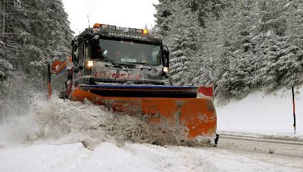Roads dangerous with more snow on the way