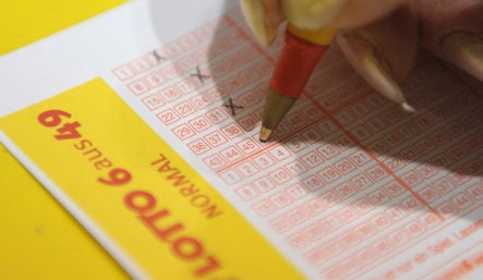 Two winners split country's third-largest lottery jackpot