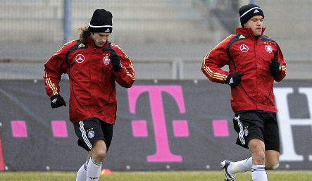 Germany warms up for first friendly of the year with Norway