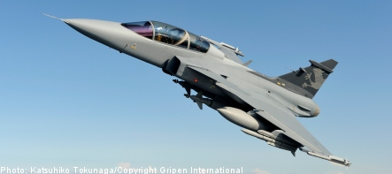 Saab joins forces with India's Tata for Gripen bid