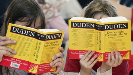 Germans learn foreign languages while foreigners shun German