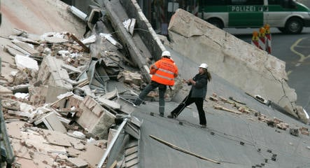 Two feared dead in Cologne archive rubble