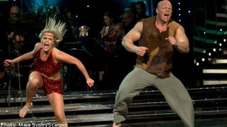 Swedish strongman takes home Let's Dance title