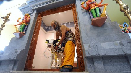 Largest Hindu temple in northern Germany opens in Hannover