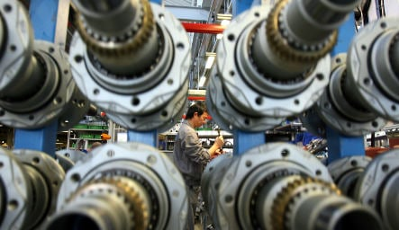 Machine tool orders continue plunge