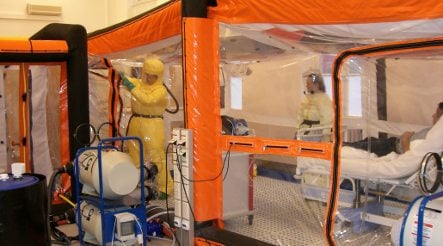 Hamburg scientist quarantined after contact with Ebola virus