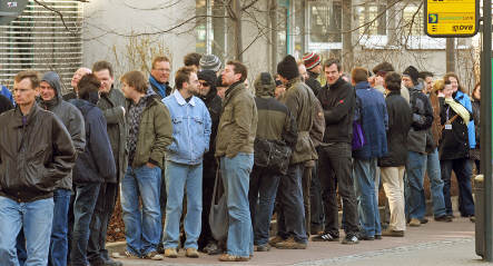 German unemployment increased in March