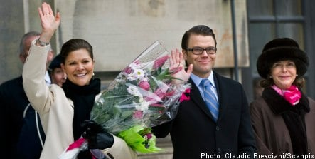 Daniel Westling takes Victoria Day bow