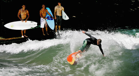 Surf's up as Munich to buy endless wave