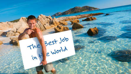 Two Germans make short-list for 'Best Job in the World' contest