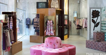 Clothier Odd Molly gives Stockholm a colourful new store