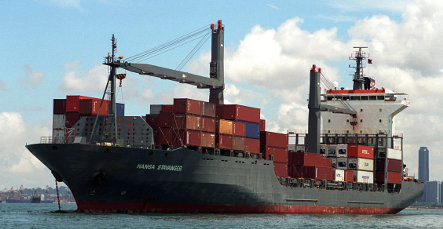 Another German freight ship hijacked by Somalian pirates