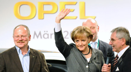 Opel teeters on the brink as politicians scrap for influence
