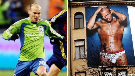 Ljungberg adds Swedish sex appeal to Seattle Sounders