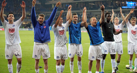 Berlin climbs back to second place in Bundesliga