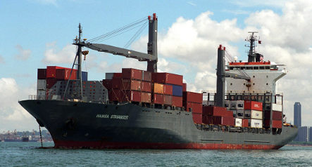 German freighter saves 75 from sinking ship