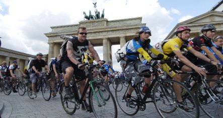 Bike couriers rolling into Berlin for championship