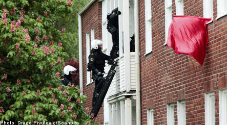 Activists occupy Lund buildings