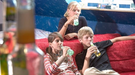 One-fifth of underage Germans get drunk once a month