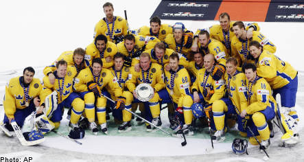Sweden claims bronze at World Ice Hockey Championships