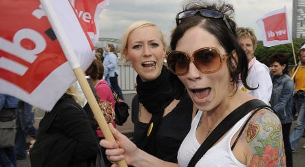 Day care strike enters third day