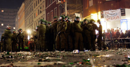 May Day turns violent in Berlin and Hamburg