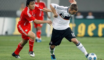 China hold Germany to a draw