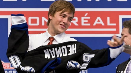 Swedes claim record haul in NHL draft