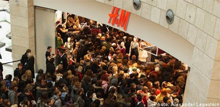 Profit hike for H&M as clothes fly off shelves