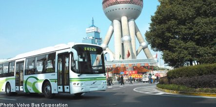 Volvo Buses lands major order from China