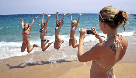 Holiday plans not affected by recession