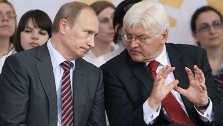 Berlin urges Russia to improve ties to US