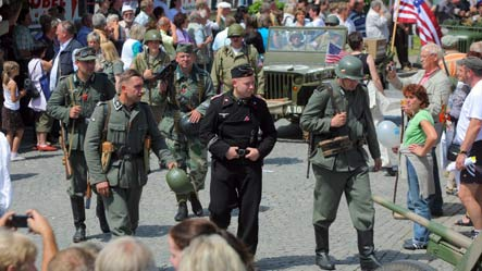 Parade in SS uniforms sparks outrage