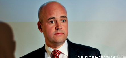 Reinfeldt pushes for carbon tax in Europe