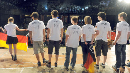 Young math minds converge on Bremen