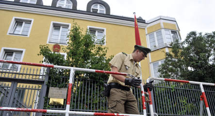 Chinese consulate attacked in Munich