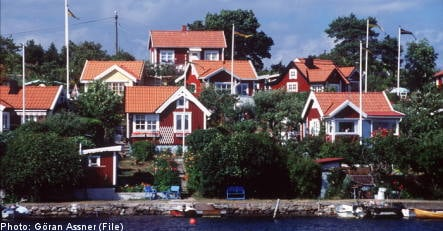 Record number of Swedish home listings