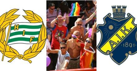 Pride march a 'game changer' for Stockholm football clubs