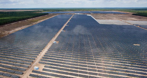 Germany's largest solar park added to grid