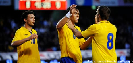 Swedes defeat Finland in World Cup warm up