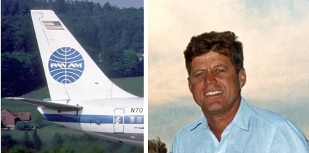 Book details JFK affair with Pan Am Swede