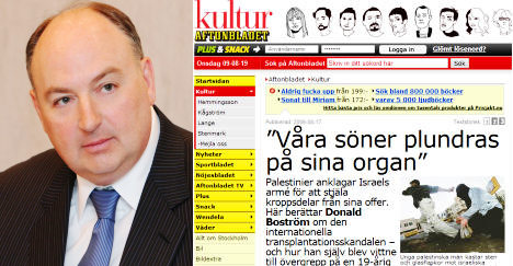 'Aftonbladet must be held accountable for false allegations'
