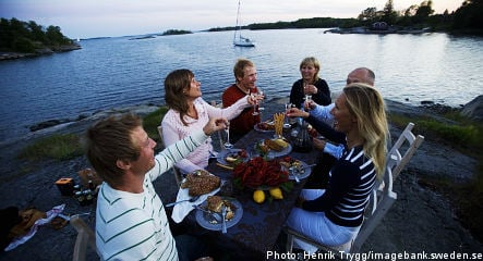 August in Sweden: drinking shots, sinking ships and stinking fish