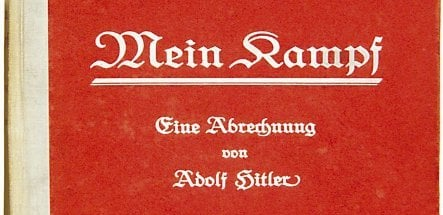 Signed copy of Hitler's 'Mein Kampf' up for auction