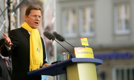 FDP's joker Westerwelle shapes up for coalition with Merkel