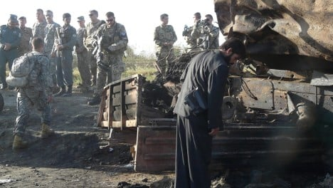 Afghans compensated for NATO air strike