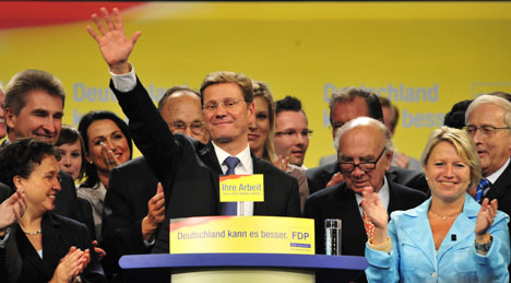 Free Democrats vow to govern only with Merkel