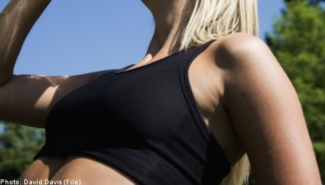 'Flammable' bras hold back Swedish female conscripts